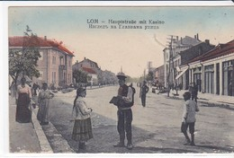 CPA Old Pc Bulgarie Lom Street - Bulgaria