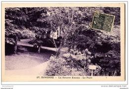 CPSM (Réf : O353) 17. DIVONNE  (01 AIN)  La Source Emma - Le Parc - Divonne Les Bains