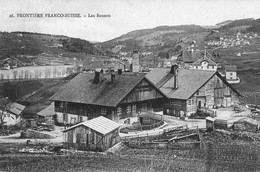 SUISSE - (VD) - 10 CPA -  Les Bassots, Les Pargots, Le Chatelard, Villers Le Lac (FRA). 8 CPA - VD Vaud