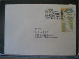 Österreich 1983- Weitra Werbestempel 800 Jahre Weitra - 1981-90 Cartas