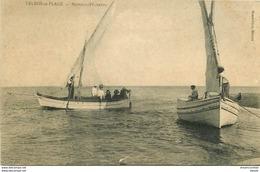 34 VALRAS-LA-PLAGE. Bateaux Pêcheurs 1914 Tampon Militaire - Beziers