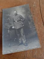 DEUTSCHER MANN DAZUMAL - GUSTAV - DEUTSCHER SOLDAT MIT DOLCH - METZ - WIDMUNG - 40er - Krieg, Militär