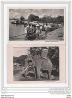 2 CPA - Saigon - Embarcation - Viet-nam - Asie - Elephant  (ref 1118) - Vietnam