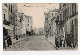 SAINT MANDE * VAL DE MARNE * RUE PLISSON * REVERBERE * Carte N° 219 * Animée - Saint Mande