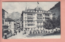OUDE POSTKAART - ZWITSERLAND - SCHWEIZ -     ENGELBERG - HOTEL VICTORIA - OW Obwalden