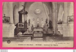 CPA (Ref: Z 1344) ISOMES  (52 HAUTE MARNE ) Intérieur De L'Église - Frankrijk
