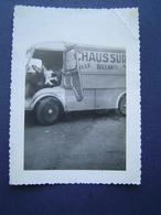 PHOTOGRAPHIE Ancienne 1960 : TUB CITROEN / CHAUSSURES BELLANTI / HYERES ( VAR ) - Automobiles