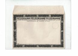 CTN61/B - SUISSE ENVELOPPE TELEGRAMME NEUVE - Télégraphe