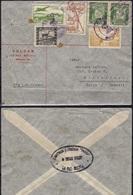 BOLIVIA Brief Cover Via Lloyd Aereo Boliviano Lab - Condor From Volcan La Paz --> Winterthur Schweiz Suisse 1939 - Bolivia