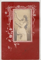 FF 408  OLD ( 1905 ) FANTASY POSTCARD ,  FINE ART ,  FEMALE FIGURATIVE - Mujeres