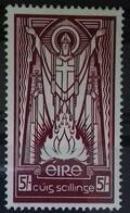 IRLANDE ETAT LIBRE N° 69 COTE 100 € NEUF * MH  5 S Lilas-brun SAINT PATRICK (gomme Partielle). TB - 1922-37 Stato Libero D'Irlanda