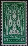 IRLANDE ETAT LIBRE N° 68 COTE 200 € NEUF ** MNH  2/6 Vert SAINT PATRICK . TB - 1922-37 Stato Libero D'Irlanda