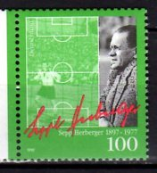 1997 Germany  100 Years Of  Sepp Herberger  MNH** MiNr. 1896 Football Trainer Of Bern Miracle Of German National Team - 1954 – Schweiz