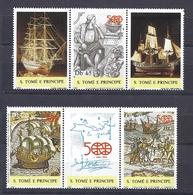200033567  STO. TOME E PPE.  YVERT   Nº  884/6  **/MNH - Sao Tome Et Principe