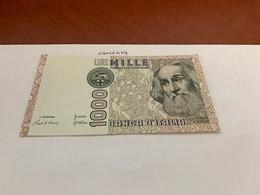 Italy Marco Polo Banknote 1000 Lire 1982 #4 - [ 1] …-1946 : Regno