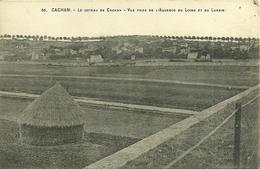 94  CACHAN - LE COTEAU - VUE PRISE DE L' AQUEDUC ..... (pli D' Angle) (ref 9330) - Cachan