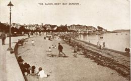 ARGYLLSHIRE - DUNOON, THE SANDS, WEST BAY  Arg232 - Argyllshire