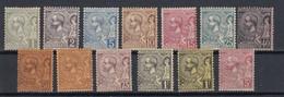Monaco 1885 Complete Set MIchel 11-21 MNH *, Cat. Value 1250 EUR - Unused Stamps