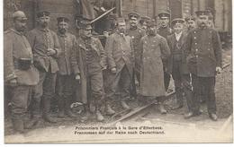 Prisonniers Français à La Gare D'Etterbeek - Etterbeek