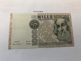 Italy Marco Polo Banknote 1000 Lire 1982 #5 - [ 1] …-1946 : Regno