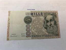 Italy Marco Polo Banknote 1000 Lire 1982 #5 - [ 1] …-1946: Königreich