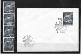 6042k: Österreich 1959, Muttertag, Beleg Und 4 Postfrische/ Gestempelte Briefmarken - Mother's Day