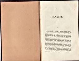 """Exaerde  """" 1867 - Geschiedenis Van Exaerder- Broeckaert - De Potter 1867 - Waasmunster"""