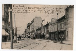 SAINT MANDE * VAL DE MARNE * RUE CHARONNE * MENUISERIE * HOTEL MEUBLE * éditeur GIRAUD, Avenue Herbillon - Saint Mande