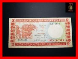 SIERRA LEONE 2 Leones 1970 P. 2 D  VF - Sierra Leone