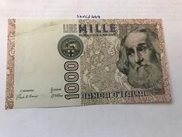 Italy Marco Polo Banknote 1000 Lire 1982 #6 - [ 1] …-1946: Königreich