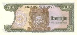 Cambodia P.37 200 Riels 1992  Unc - Cambodge