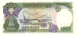 Cambodia P.39 1000 Riels 1992  Unc - Cambogia