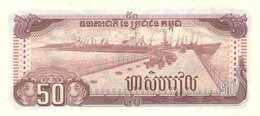 Cambodia P.35 50 Riels 1992 Unc - Cambodge