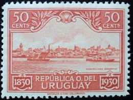 1930 URUGUAY HINGED CENT. INDEPENDENCIA INDEPENDENCE 50 C. Ship Yvert 403 - Uruguay