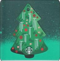 Thailand Starbucks Card Christmas Tree - 2019 - 6170 - Gift Cards