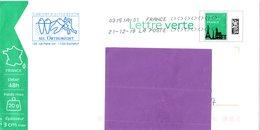 Dentiste - Orthodontie - Rochefort - Charente Maritime - Lettre Verte Monuments - B2K/138739 - Entiers Postaux