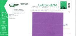 Metallerie - Artisanat - Renage - Isère - Lettre Verte Monuments - B2K/154312 - Entiers Postaux
