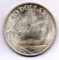 SINGAPORE, 10 Dollars, Silver, Year 1976, KM #11 - Singapore