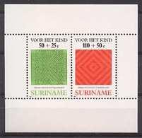 Republiek Suriname Nr 570 Postfris/MNH Kinderpostzegels, Vlechtwerk 1987 - Surinam