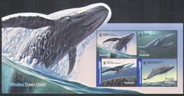 Australia, 2006. Marine Fauna, Whales (s\s), WWF - Unused Stamps