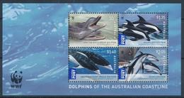 Australia, 2009. Marine Fauna (s\s), WWF - Unused Stamps
