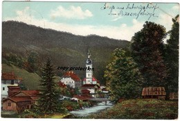 Künstlerkarte Riesengebirge, Stempel Seifershau Bz. Liegnitz, Alte Postkarte 1906 - Pologne