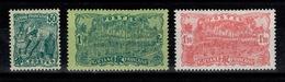 Guyane - YV 106 à 108 N* Complète - Unused Stamps