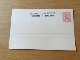 KS1 Finnland Ganzsache Stationery Entier Postal P 46 - Finland