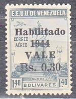 VENEZUELA    SCOTT NO.C198   MNH   YEAR 1944 - Venezuela