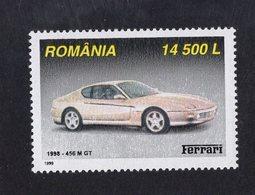Romania 1999  -  Ferrari 456M GT  (1998)    -  1v Timbre Neuf/Mint/MNH - Coches