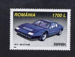 Romania 1999  -  Ferrari 365 GT/4 BB  (1973)    -  1v Timbre Neuf/Mint/MNH - Coches
