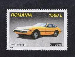 Romania 1999  -  Ferrari 365 GTB/4  (1968)    -  1v Timbre Neuf/Mint/MNH - Coches