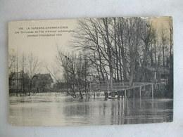 LA VARENNE CHENNEVIERES - Les Terrasses De L'ile D'Amour Submergées Pendant L'inondation 1910 - Otros Municipios