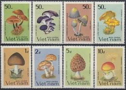 VIETNAM 1371-1378,unused,mushrooms - Mushrooms
